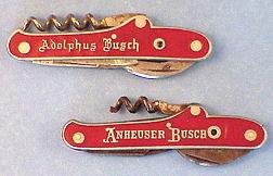 Your Promo Partners Blog Anheuser Busch Corkscrew 1852